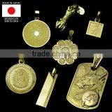 traditional and High quality gold jewelry pendant for Fashionable made in japan , Other pendants also available