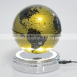 Professional rotating acrylic led magnetic levitation products/globe