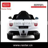 RASTAR baby Rechargeable battery power Ferrari car type Children ride on car
