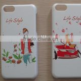 Customized UV printing case with rubber coated phone case, 2013 newest mobile phone case with factory price in SZ