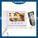 Modern classic handsfreevwired video door bell Visual door entry intercom Manufacture 20 years