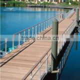 HDPE floating bridge for landscape