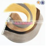 best quality double drawn wholesale dip dye ombre remy tape hair extension