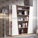 lastest high quality Modern design Cabinet Book Shelf / Bookcase /furniture living room combination wooden cabinet bookcase