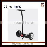 8 inch 350W electric scooter ,strong power two wheel balance with handle bar