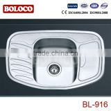 stainless steel sink Kitchen sink overflow BL-916