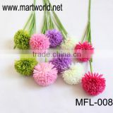 Hot sale Alimus bulbs artificial wedding flower for wedding & party decoration for sale (MFL-008)