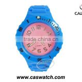 Changeable plastic watch movable bezel