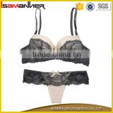 Bra and Panty Set Micro Fiber Lace T back G string Young Girl Sexy Teen Bra Panty
