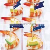 disposable bamboo party decorative food picks