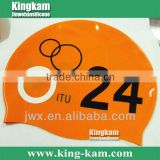 New Arrival-- Big Printing Silicone Swimming Cap                                                                         Quality Choice
