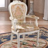 Commercial furniture solid wood chair carving Cafe chairs