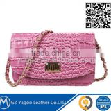 High Standard Sexy Mini Shoulder Bag Clutch Croco Bag