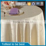 ToBest Hotel supplies Wholesale Hotel Restaurant Tablecloth Luxury Banquet TableCloth                                                                         Quality Choice
