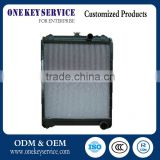 High quality water tank / auto tank radiator / oil cooler for excavator ,vacuum heat exchanger