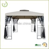 Stock product aluminum pergola gazebo with mosquito net factory manufacturer 3 x 3 m gazebo tent                                                                         Quality Choice