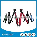 Kingjoy Flexible soft foam EVA tripod for cellphone/digital SLR camera ,Iphone,Android,samsung KT-600