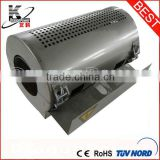 Air cooling ceramic heater for extrusion machines