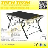 ST4 Adjustable Folding Aluminum Portable Stage                                                                         Quality Choice