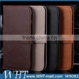 Mobile Phone Accesories Leather Flip Case for HTC One M8 Bulk Buy from China