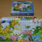 Magnet Jigsaw puzzle/ Promotion paper Jigsaw puzzle/advertising puzzle(SA8000, BSCI, ICTI, WCA Accredited factory)