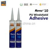 fast curing high adhesive one component windshield Polyurethane Sealant adhesive Renz10
