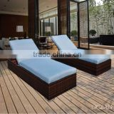 General leisure garden lounge set outdoor rattan lounge set loungers hotel