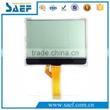 Transflective monochrome lcd display module128x64 FSTN POSITIVE with white backlight & SPI interface