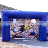 Outdoor Inflatable Sports Hoop Inflatable Football Shooting Target