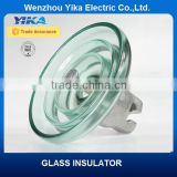 Wenzhou Yika IEC U160 Glass Disc Suspension Insulator... High Voltage Toughened Glass Insulator China