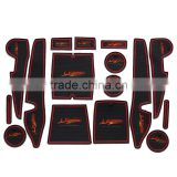 Car accessories interior label sticker for Toyota Levin 2014 16pcs/set red