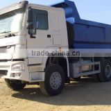 SINOTRUK HOWO Dump truck/ Tipper with Volvo Box for sale