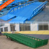 Manual control 6ton hydraulic loading ramp for truck