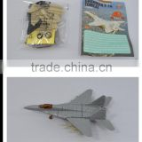 Kids self assemble 4D jet plane toy