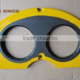concrete pump truk construction equipmeng 100% tungsten carbide truck pump parts /wear plates and cutting rings