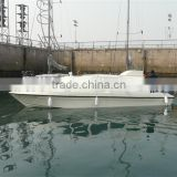 9.8m High speed fiberglass have Hard roof cabin passenger car ferry