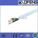Flat twin and earth 2.5mm2 PVC Wire twin and earth 1.5mm2 PVC Wire 2 cores cable with earth wire