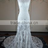 (JBH2016-23) MARRY YOU China Real Pictures 2015 Factory Wedding Dress French Net Lace Fabric