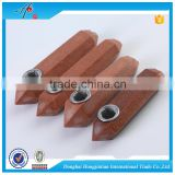 Wholesale Red Glodstone Crystal Shaped Glass Hand Pipes Used in smoking herb