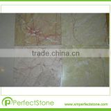 Chinese color Cream Yellow Red marble tiles for floors