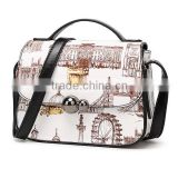 Fancy Design Digital Printed Shoulder Bag Handbag