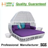 outdoor wicker poly rattan day bed