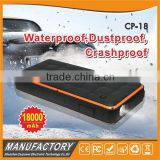 IP65 waterproof powerful mini auto jump starter lipo car battery