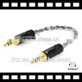 HIFI cable 3.5mm MALE to MALE Stereo Audio Cable Neutrik Plug & 3.5 stereo cable