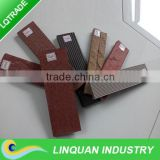 Exterior wall tiles with new design