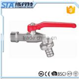 ART.2002 CE Approved Forged Brass Water Bibcock Valve With Hose Connector Garden Bibcock Basin Tap Toilet Water Bibcock Price