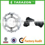 270MM Oversize Light Weight Grooved Floating Front Brake Disc Disk Rotor With Bracket For Honda XR400R