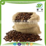 Factory price jute cocoa beans bag colorful printing