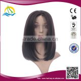 Special price and Good quality synthetic kinky straight lace front wig