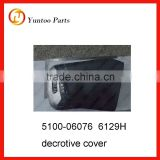 yutong bus interior decorative part cover